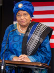 Photo of Her Excellency Ellen Johnson Sirleaf