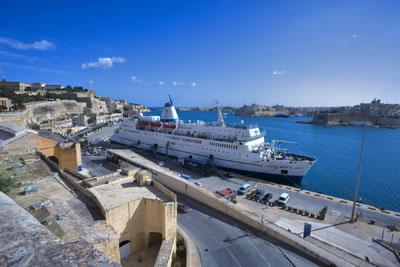 Logos Hope in Valletta, Malta